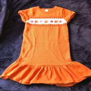 Gymboree Pumpkin Fall Dress